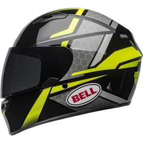 BELL MOTO HELMETS QUALIFIER FLARE BLACK/HI VIZ